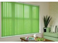Vertical blinds to suit your windows x3 from £99 wow !!