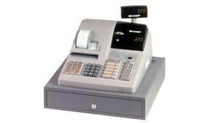 Used cash register
