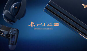 500 Million Edition PS4 Pro 2TB Bundle with Extras!