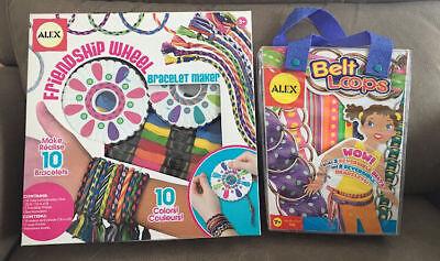 Alex Toys Friendship Wheel Bracelet Maker & Belt Loops -