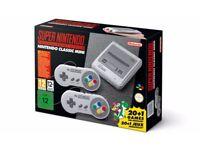 Super nintendo classic mini games console BRAND NEW in box