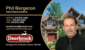 Looking to BUY or SELL a Home in WINDSOR -Essex cty area