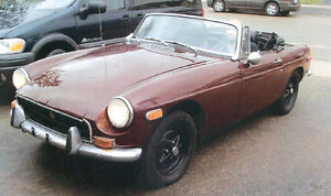 1973 MGB- ELECTRIC OVERDRIVE,NEW REBILT ENGINE.$2900