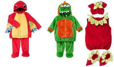 GYMBOREE Mini Monster Costume, STRAWBERRY OR Baby Parrot Costume MULTI SIZES - Infant Parrot Costume