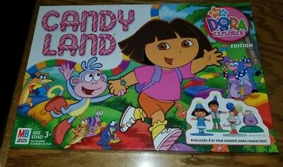 (Dora The Explorer CANDY LAND Board Game Complete Nick Jr with Diego & Boots )