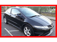69000 Miles -- 2009 Honda 0Civic 1.8 Type S -- Nice & Sporty -- Great Spec -- Part Exchange OK