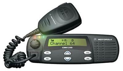 Motorola Cdm 1250 Vhf Mobilein-vehicle Radio - 136-174 Mhz 45w - Tested New