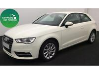 ONLY £228.67 PER MONTH WHITE 2013 AUDI A3 1.6 TDI SE 3 DOOR DIESEL MANUAL