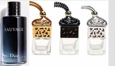 Dior Sauvage Inspired Car Air Freshener Scent Perfume Bottle Ornament Designer