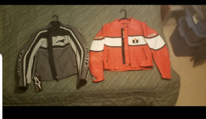 2 size small Motorcycle jackets for ladies NEW