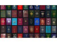 ogloszenie dotyczące imigracji zawieracjące informacje na temat niebieskiej karty