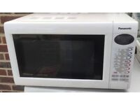 PANASONIC INVERTER SLIMLINE COMBINATION MICROWAVE OVEN - FOR REPAIR/SPARE PARTS