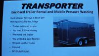 Need a enclosed trailer for your next move?