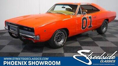 1968 Dodge Charger General Lee R/T Tribute V8 Auto Mopar Dukes Hazzard Classic Vintage Collector Clone Tribute Orange