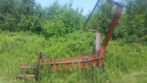 Henry square bail loader and MF 10 bailer for sale