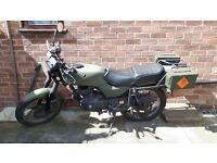 honda cb250 rsa spares or repair