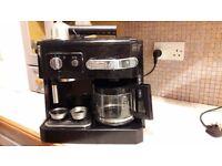De Longhi Combination Espresso & Filter Coffee Machine
