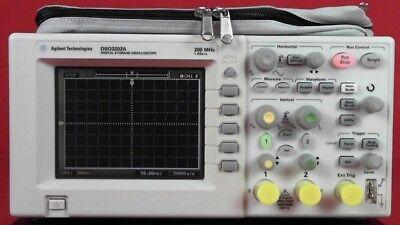 Agilent Dso3202a 200 Mhz Oscilloscope Tested Guaranteed Sale