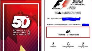 Selling Tickets for FORMULA 1 GRAND PRIX MONTREAL 2017