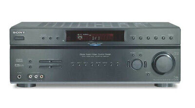 SONY STR-DE598 A/V Stereo Receiver, 90 watts, 5.1-channels (VERY GOOD CONDITION)