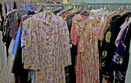 000's of vintage clothes & accessories  1970's to 1910's – bulk Adelaide CBD Adelaide City Preview