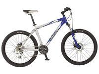 Men's GIANT mountain bike blue/black in good condition