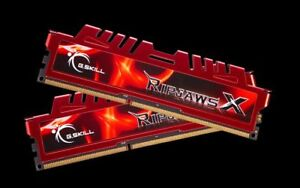 16 gigs DDR 3 G.SKILL Ripjaws X DDR3 1600 XMP Ready Ram