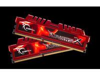 G Skill RipJawsX 8GB (2x 4GB) DDR3 1600Mhz RAM