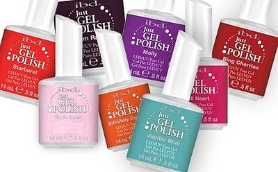 Ibd Just Gel Polish - 30 Colors To Choose From (a-j) - Base, Top Coat, Powerbond