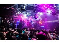 Bar Supervisor For Underground Electronic Music Venue (Corsica Studios)