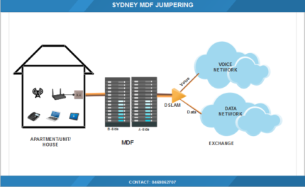 Sydney MDF Jumpering Technician for Internet Connection-$50
