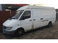 MERCEDES BENZ SPRINTER 1999 SPARES REPAIRS BREAKING ALL PARTS AVAILABLE BIRMINGHAM