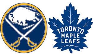 Leafs vs. Buffalo Sabres tickets April 2nd (2x hardcopt tickets)