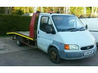 Ford Transit Recovery Truck 2.5 banana 1998