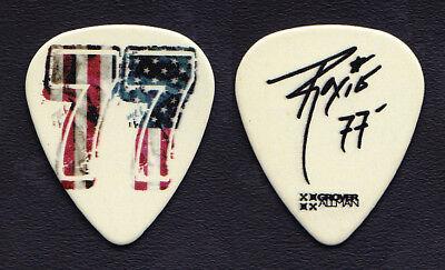 Alice Cooper Ryan Roxie Signature Ameriswede 77 Guitar Pick - 2016 Tour