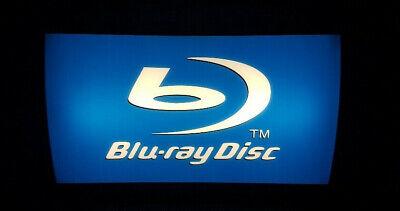 Blu-Ray Werbung Leuchtreklame Leuchkasten