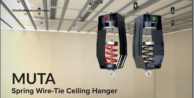 Kinetics Muta Hanger White 19-37 Lb Capacity Spring Hanger Vibration Isolator