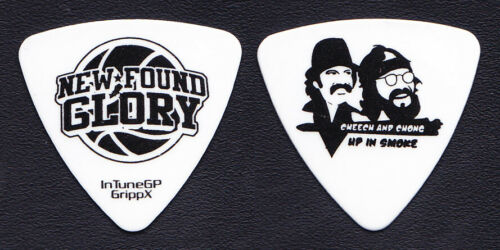 New Found Glory Ian Grushka Cheech & Chong Up In Smoke Bass Guitar Pick - NFG