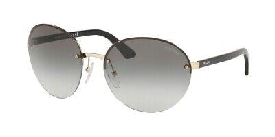 PRADA ESSENTIALS PR 68VS Pale Gold/Grey Shaded (ZVN-0A7) Sunglasses