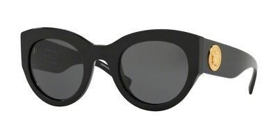 Versace TRIBUTE COLLECTION VE 4353 Black/Grey (GB1/87) Sunglasses