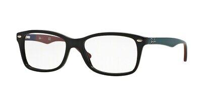 Ray-ban RX5228 5544 50mm Schwarz Brille