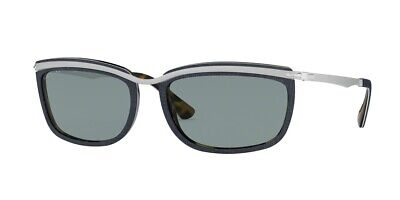 Persol Sunglasses model PO3229S 10903R / Silver/Blue Prince Of Wales-Blue (Persol Models)