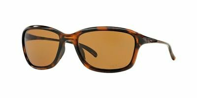 Oakley Sunglasses OO9297-02 She's Unstoppable Tortoise Frame Polarized 57-17