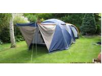 Sunncamp mistral large family tent