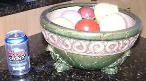 DECORATIVE FRUIT BOWL WITH FAKE FRUITS Moncton New Brunswick image 2