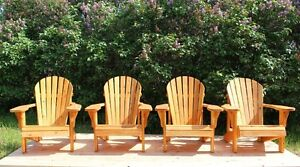 Adirondack Muskoka Garden Lawn Chairs for Cottage,Garden,Patio