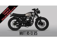 2018 MUTT RS-13 125CC***NEW FOR 2018***