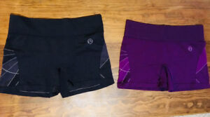 Two Pairs of Mint Condition Lululemon Shorts.