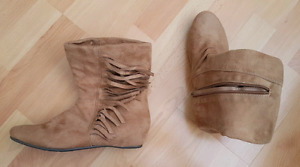 Women's ankle boots size 7-7.5 new without tags
