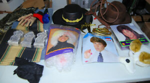 Halloween costumes/wigs etc Reduced to 15.00